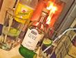 Der hauseigene Gin - mit freundlicher Genehmigung des Weingutes Lutz