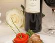 Essen und Trinken im Gästehaus Lutz - mit freundlicher Genehmigung des Weingutes Lutz