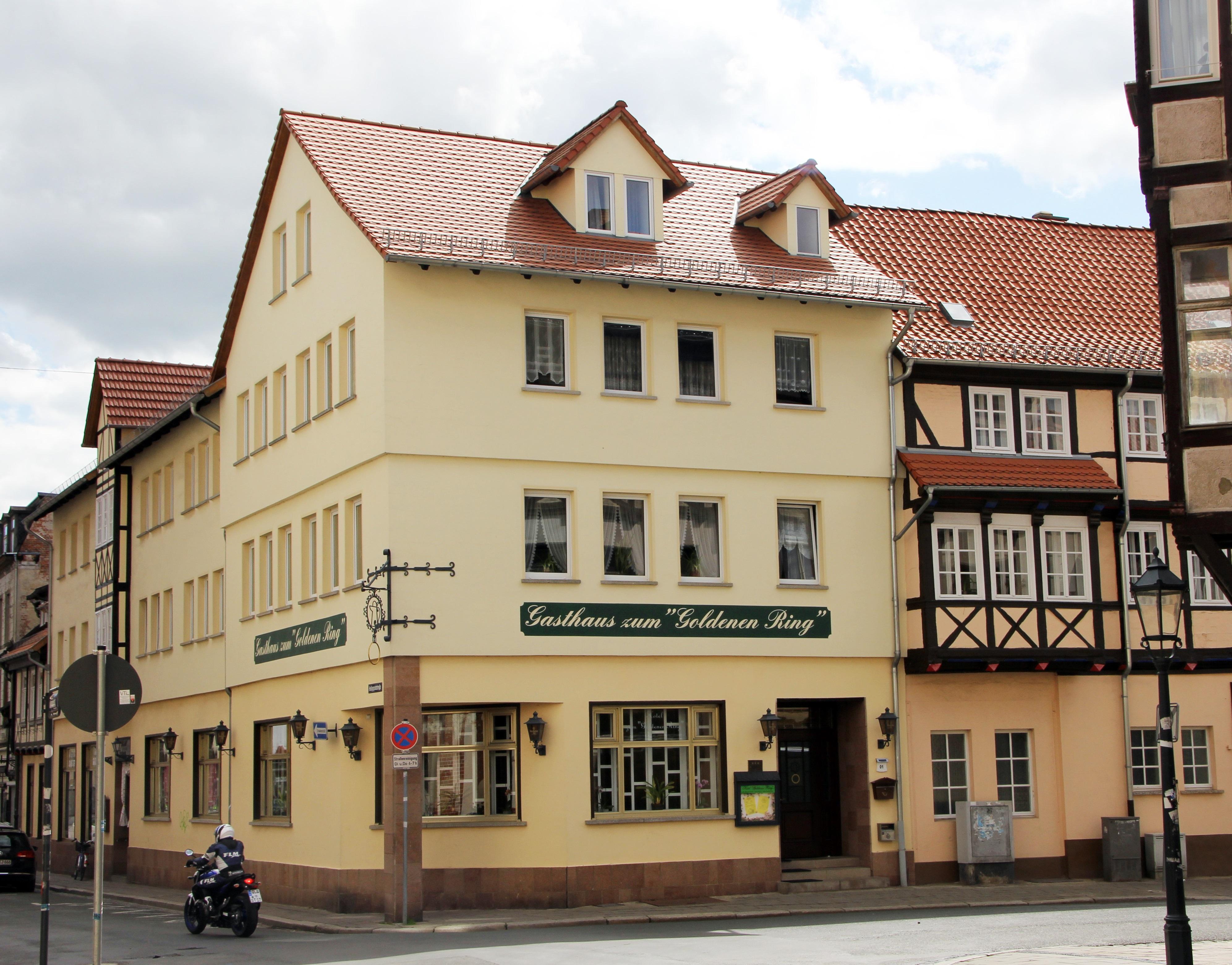 "Hotel garni zum ""Goldenen Ring"""